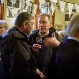 Brian Harris Book Launch at the Hoop & Grapes