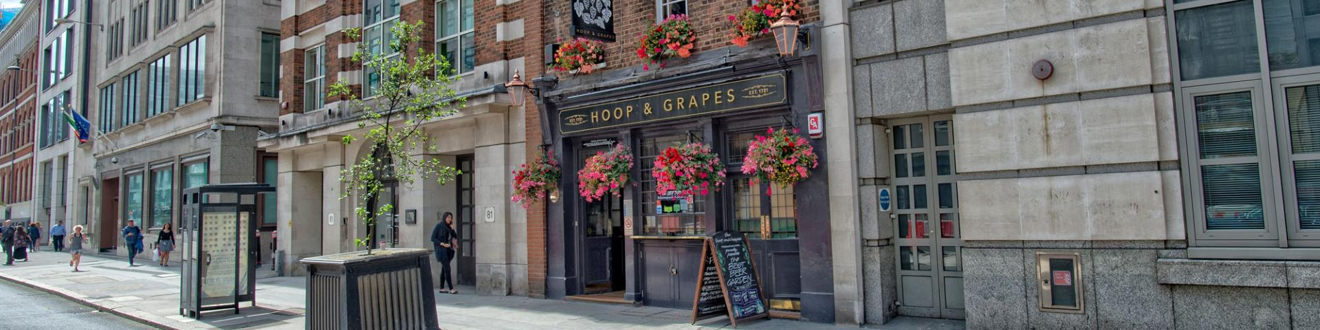 Hoop & Grapes, Farringdon
