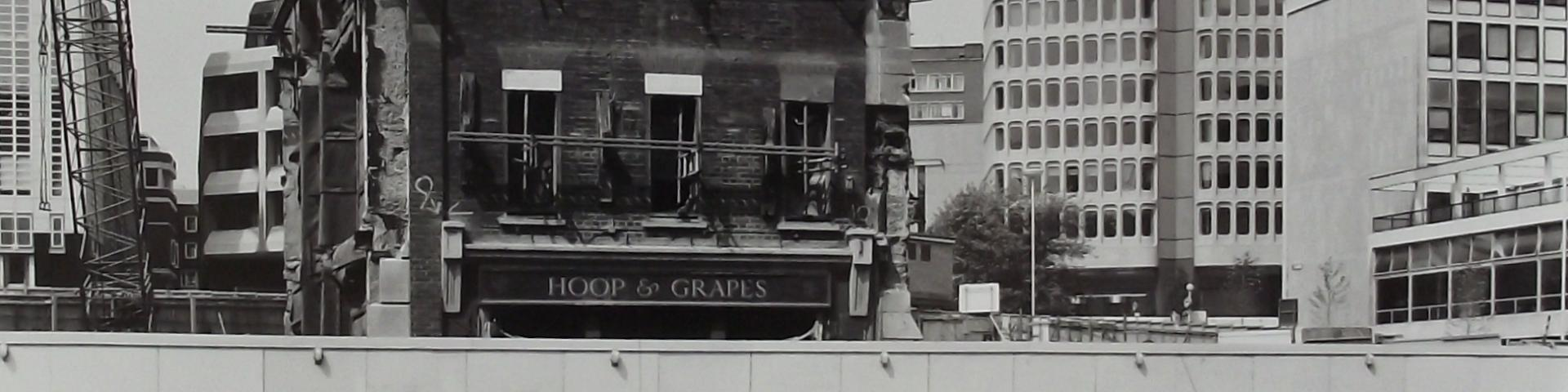 Hoop & Grapes, Farringdon. Archive Image